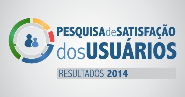 Resultado Pesquisa de Satisfação dos Usuários - 2014